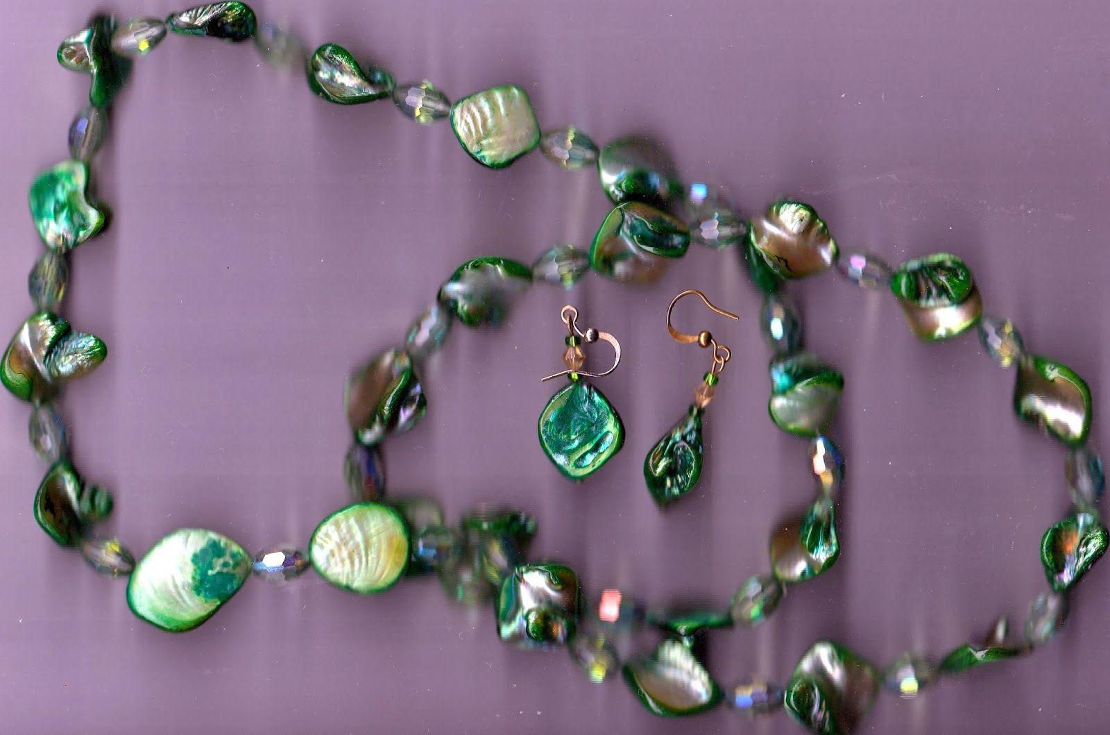 La Luce della Pace - The Light of Peace: Green Jewellery - Gioielli verdi