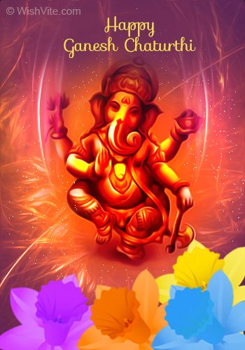 Happy ganesh chaturthi greetings cards happy birthday ganesha in happy ganesh chaturthi greetings cards m4hsunfo