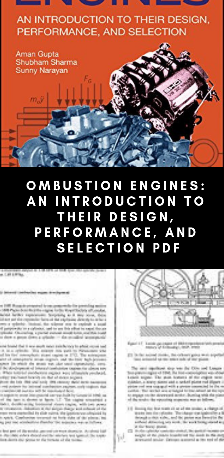 Pdf Combustion Engines An Introduction To Their Design Performance And Selection Pdf Dieselengines Dieselengin Combustion Engine Engineering Diesel Engine