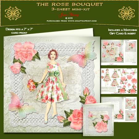 The Rose Bouquet - CUP639193_692 | Craftsuprint