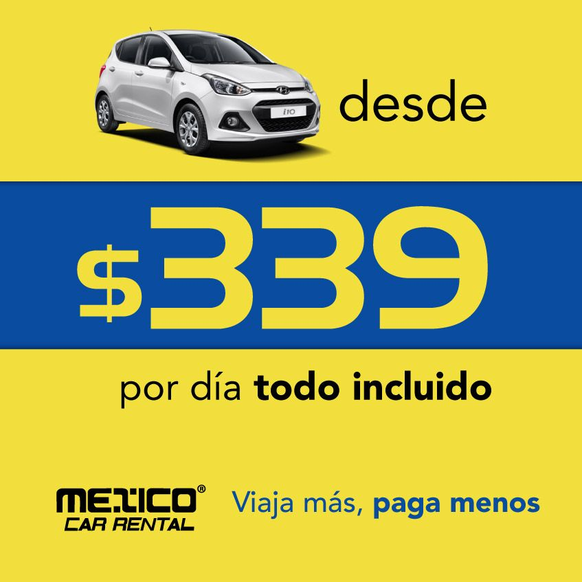 Pin De México Car Rental En Ofertas En Renta De Autos