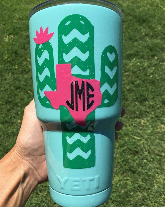 Personalized yeti, Another cute tumbler going to #sanantonio #texas  Remember, I can ship!!!