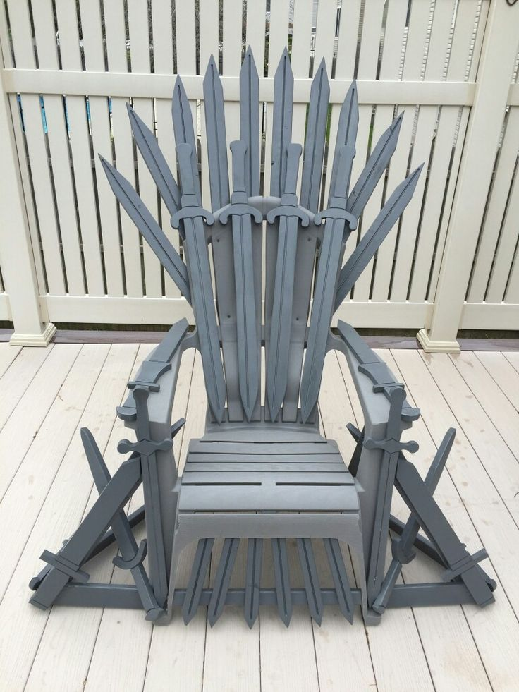 Game Of Thrones Adirondack Chairs Game Of Thrones Decor Game Of