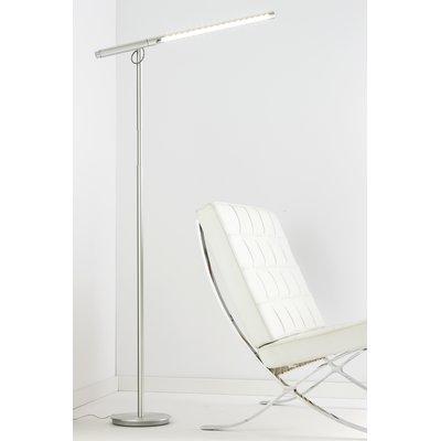 Pablo Designs Brazo Led Task Floor Lamp Color Silver Floor Lamp