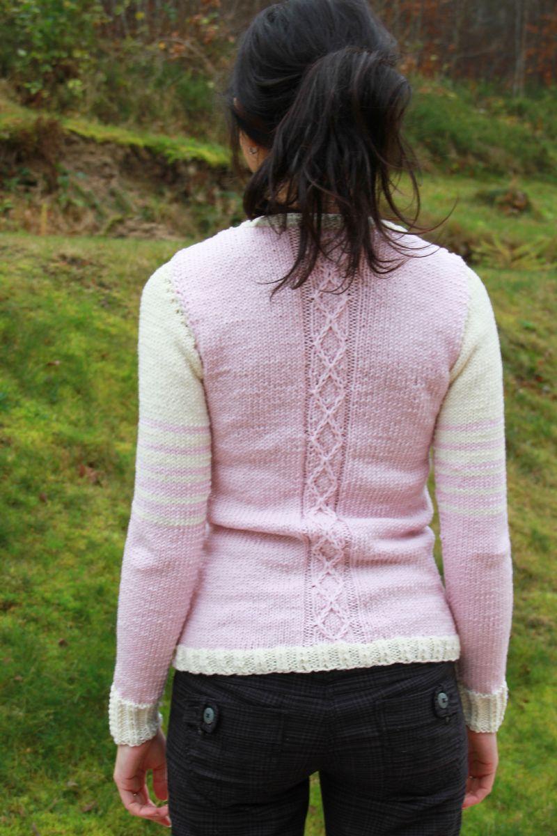 Jak uplést svetr - návod na dámský pletený cardigan  fc6e6f7d57