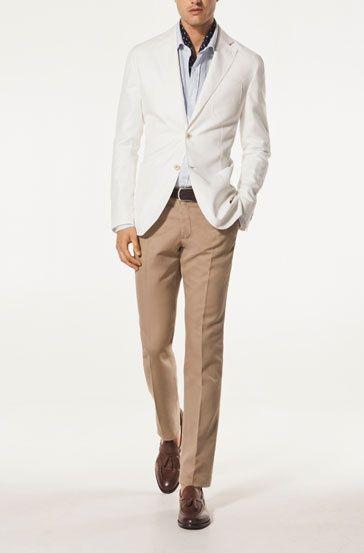 mens white linen jacket - Google Search | Summer Suits | Pinterest ...