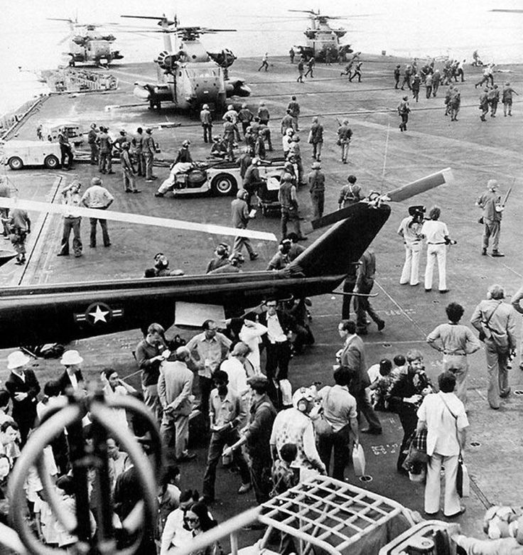 Fall of Saigon: Operation Frequent Wind - Flight Deck Panic