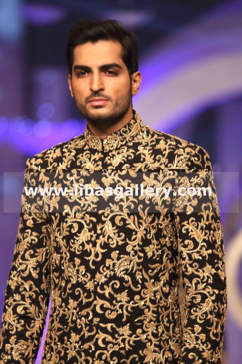Designer Mens Sherwani for Wedding Groom Turbans Designer Groom ...