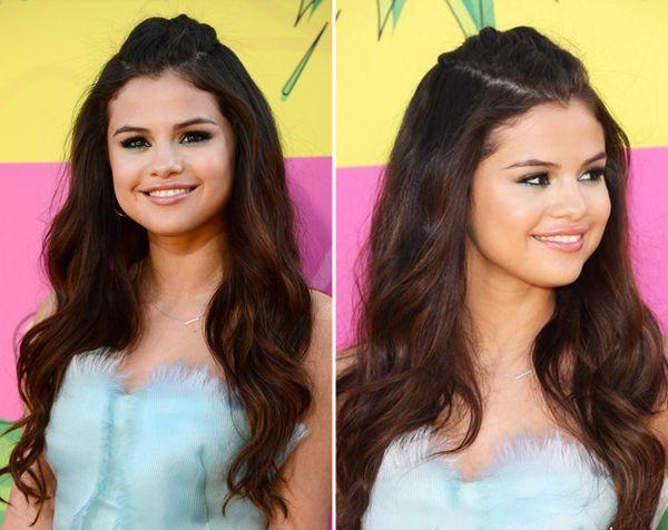 Pin em 10 penteados de Selena Gomez para a festa de 15 anos