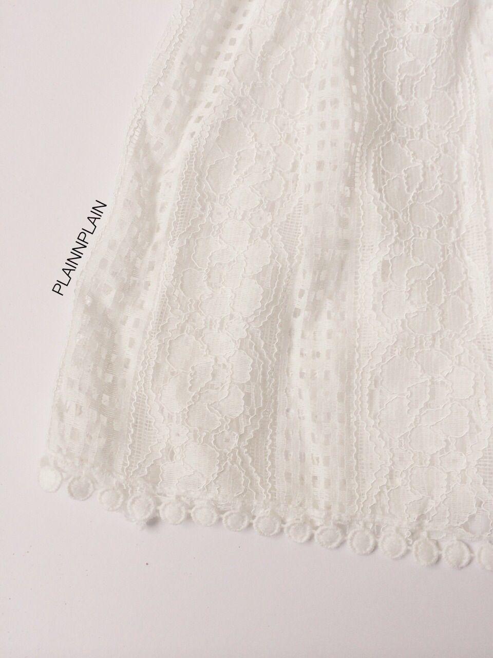 White lace mini dress plain un plain pinterest white lace