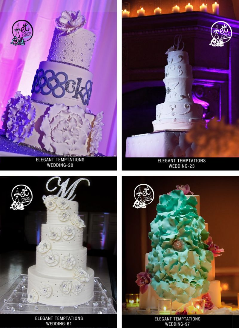 Miami Wedding Cakes Custom Wedding Cake Design Elegant
