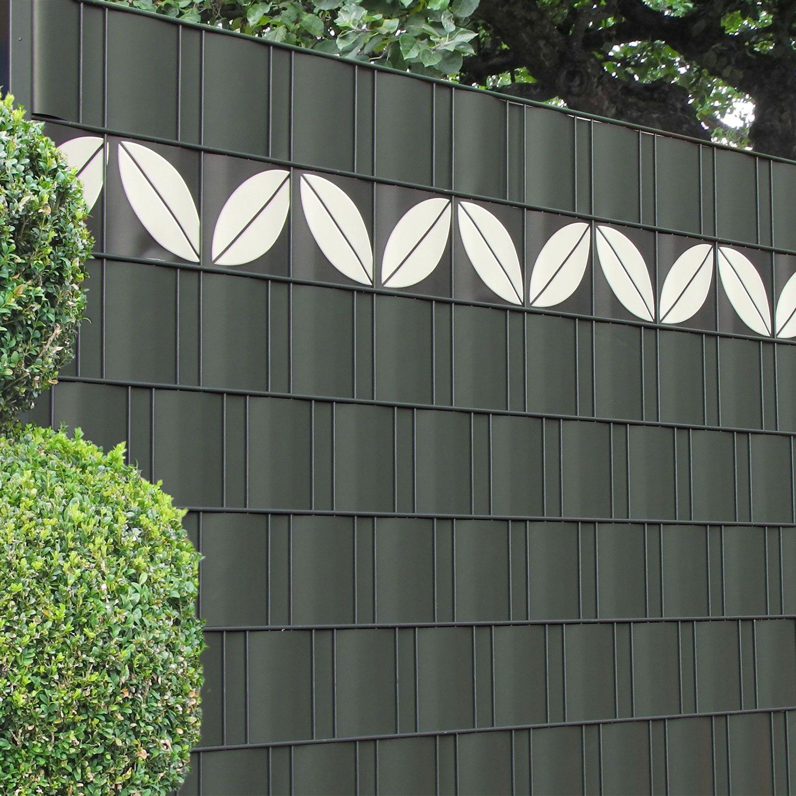 Sichtschutzzäune bekommen eine ganz neue Gestaltung mit Design