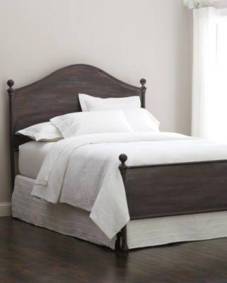 Wheatland Iron Bed from Garnet Hill.  Nice line.