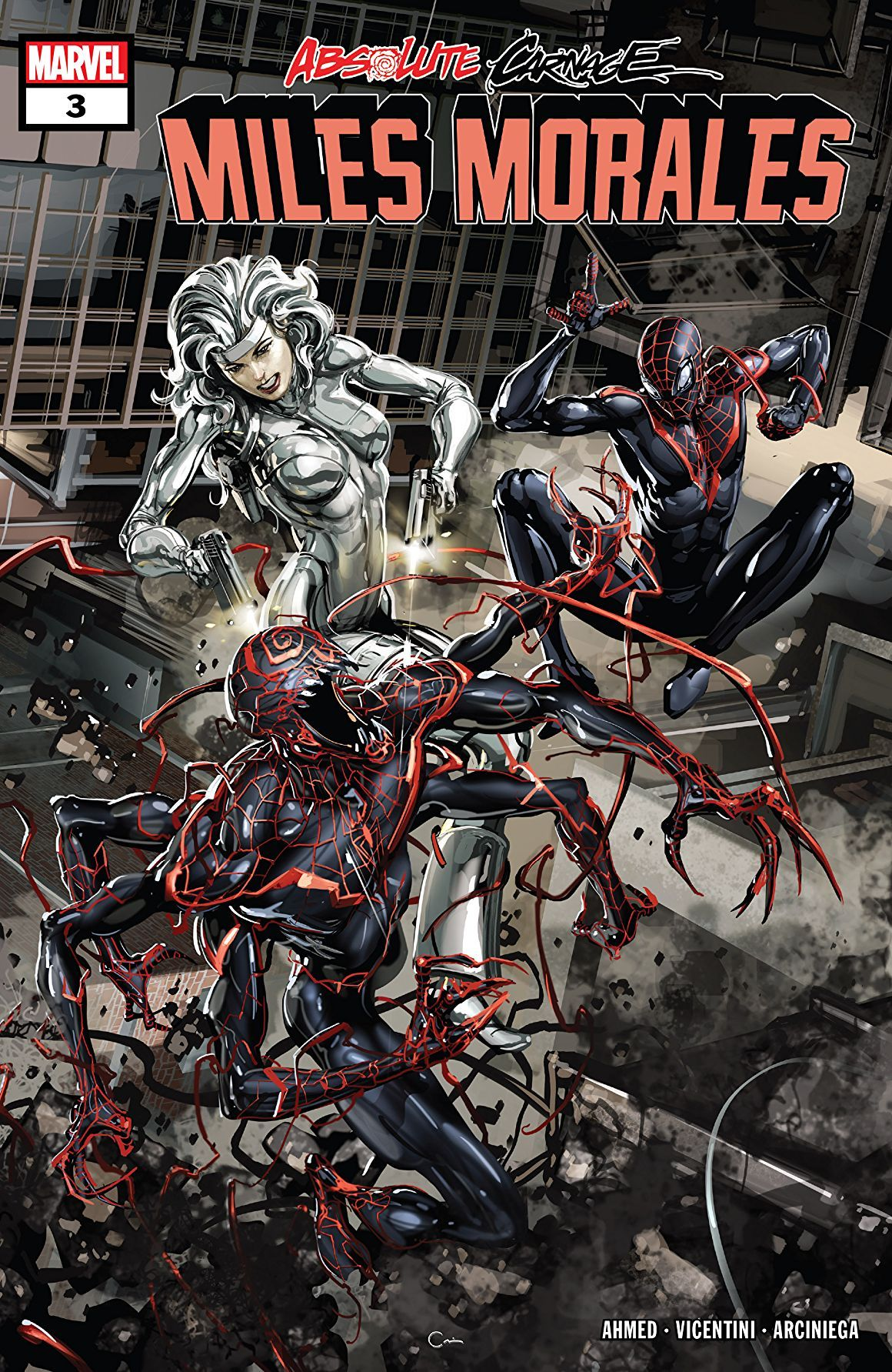 Absolute carnage miles morales 2019 3 of 3 miles