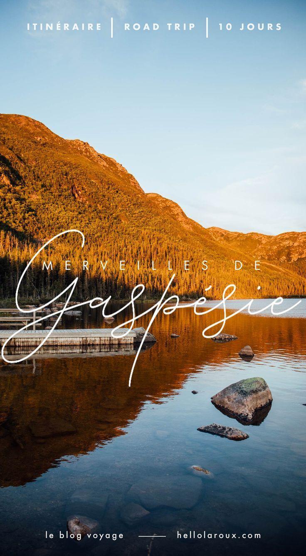 Gaspésie — l'itinéraire parfait pour un road trip de 10
