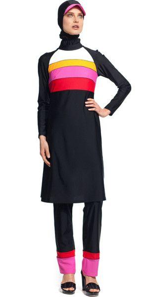 34cb78b809 Full Coverage Emma- 3 piece | Modest Swimwear | Swimsuits, Islamic ...