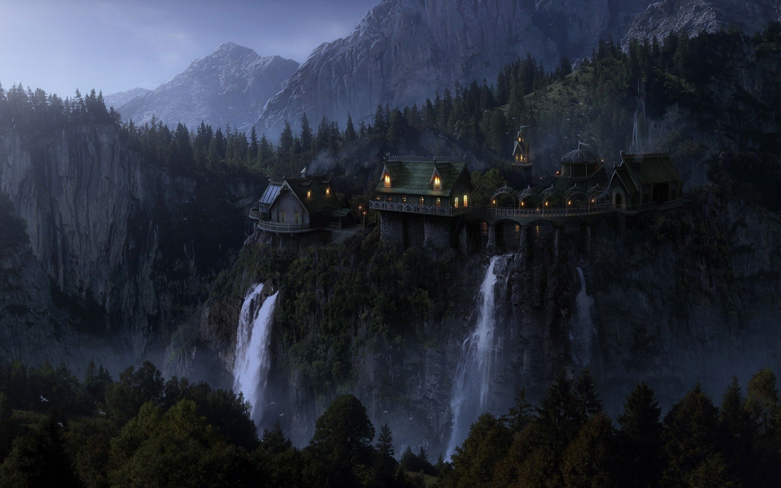 Lord Of The Rings Wallpaper 1080p 2560x1600 Landscape Wallpaper