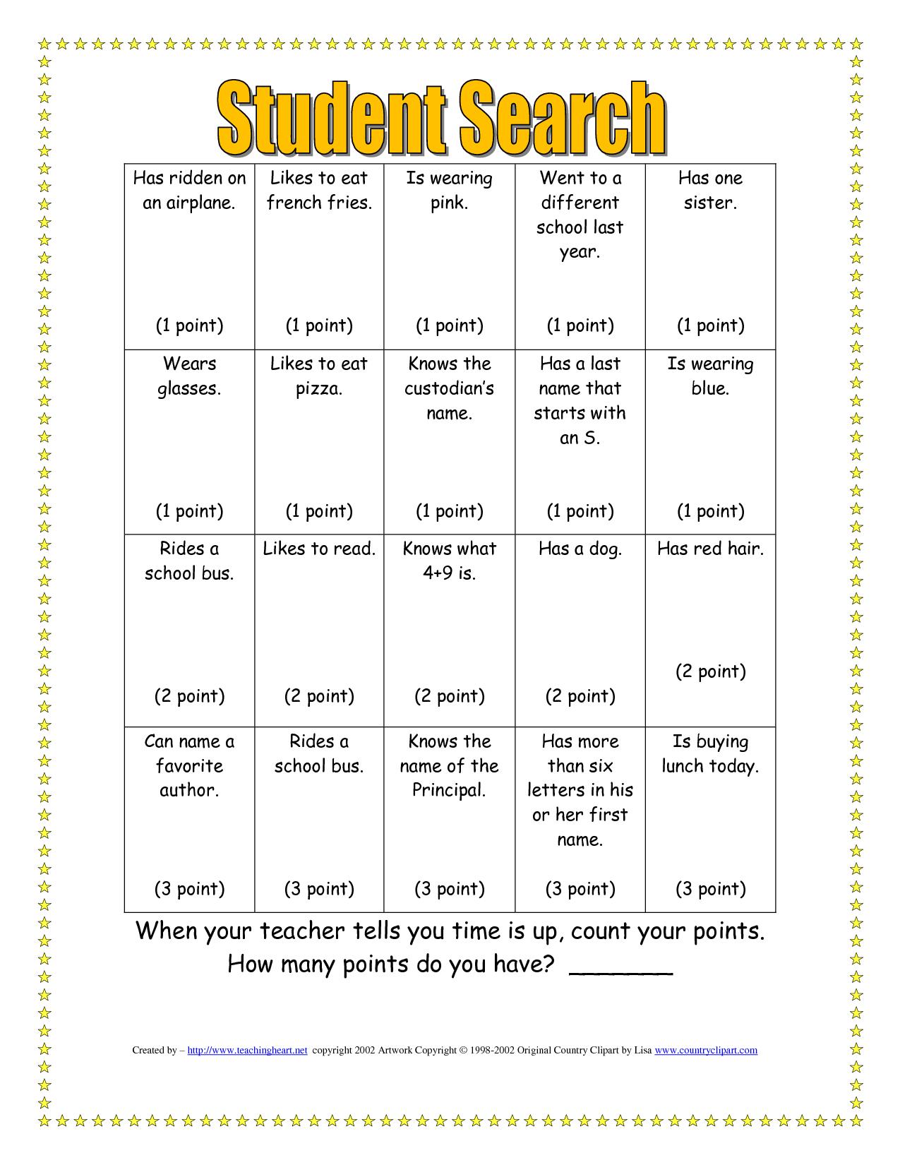 free human bingo template icebreaker