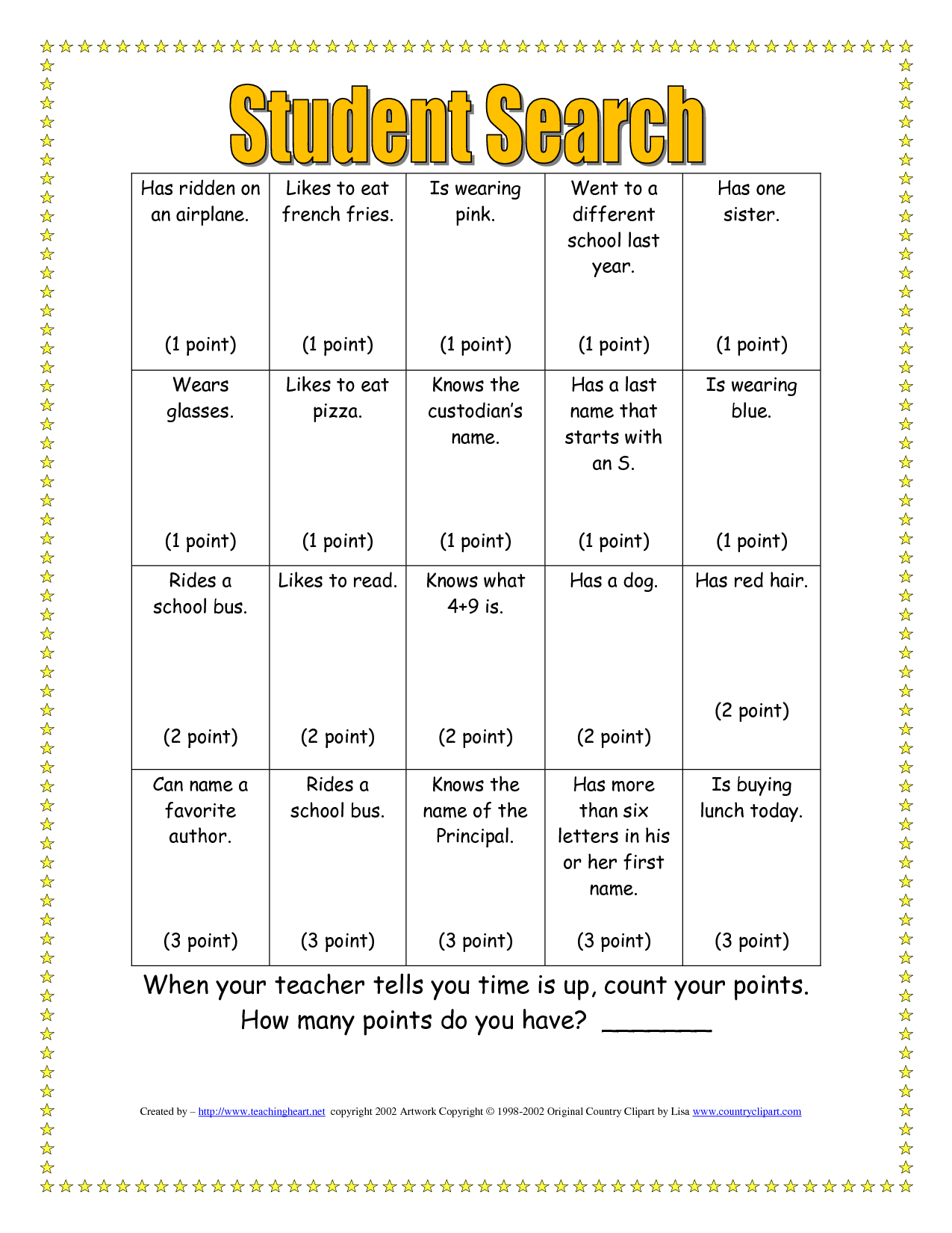 ice breaker bingo template elementary - Google Search   Classroom  icebreakers [ 1650 x 1275 Pixel ]
