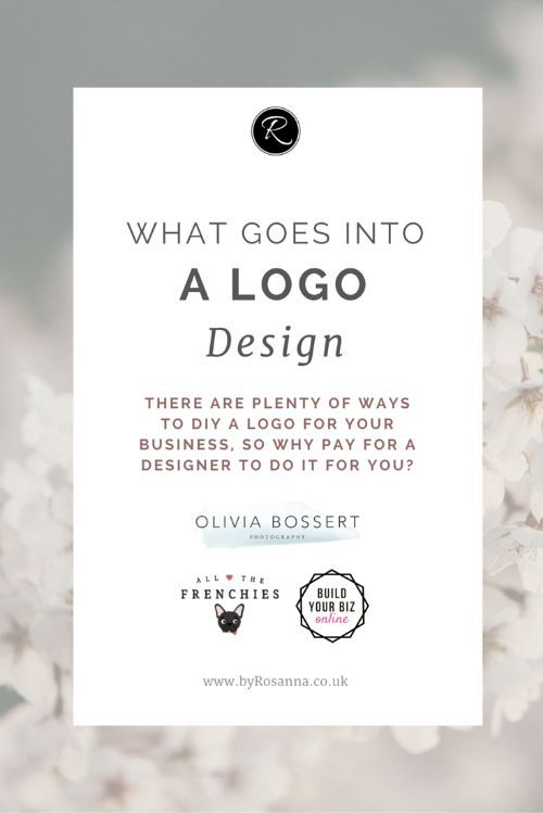 What goes into a logo design? (Why hire a designer when you can DIY