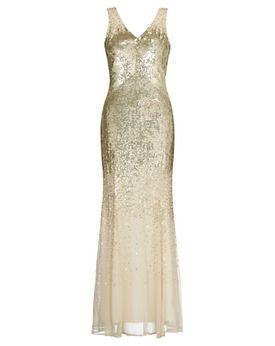 John lewis jessica sequin maxi dress