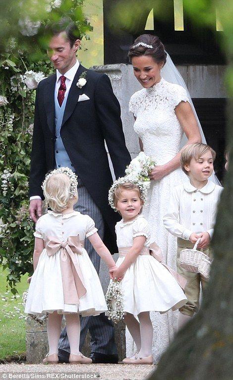 Pippa S Wedding.Prince George And Princess Charlotte Attend Pippa S Wedding