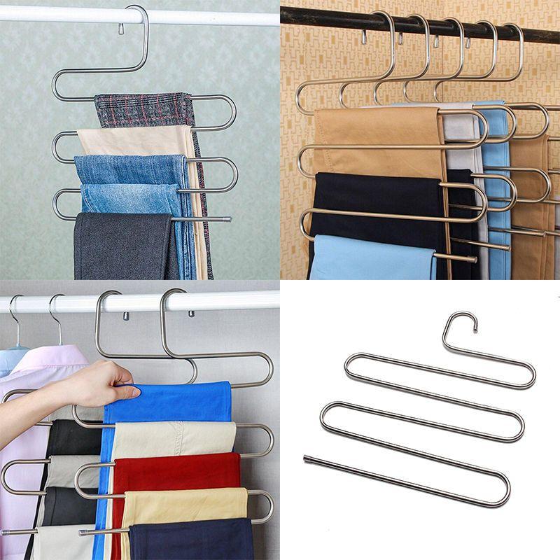 Ikea Hosenbügel details zu edelstahl kleiderbügel hosenbügel hosenspanner