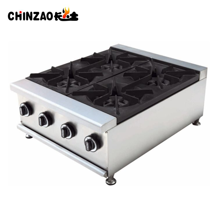 Hot Sale China Table Top 4 Burners Gas Cooker For Sale