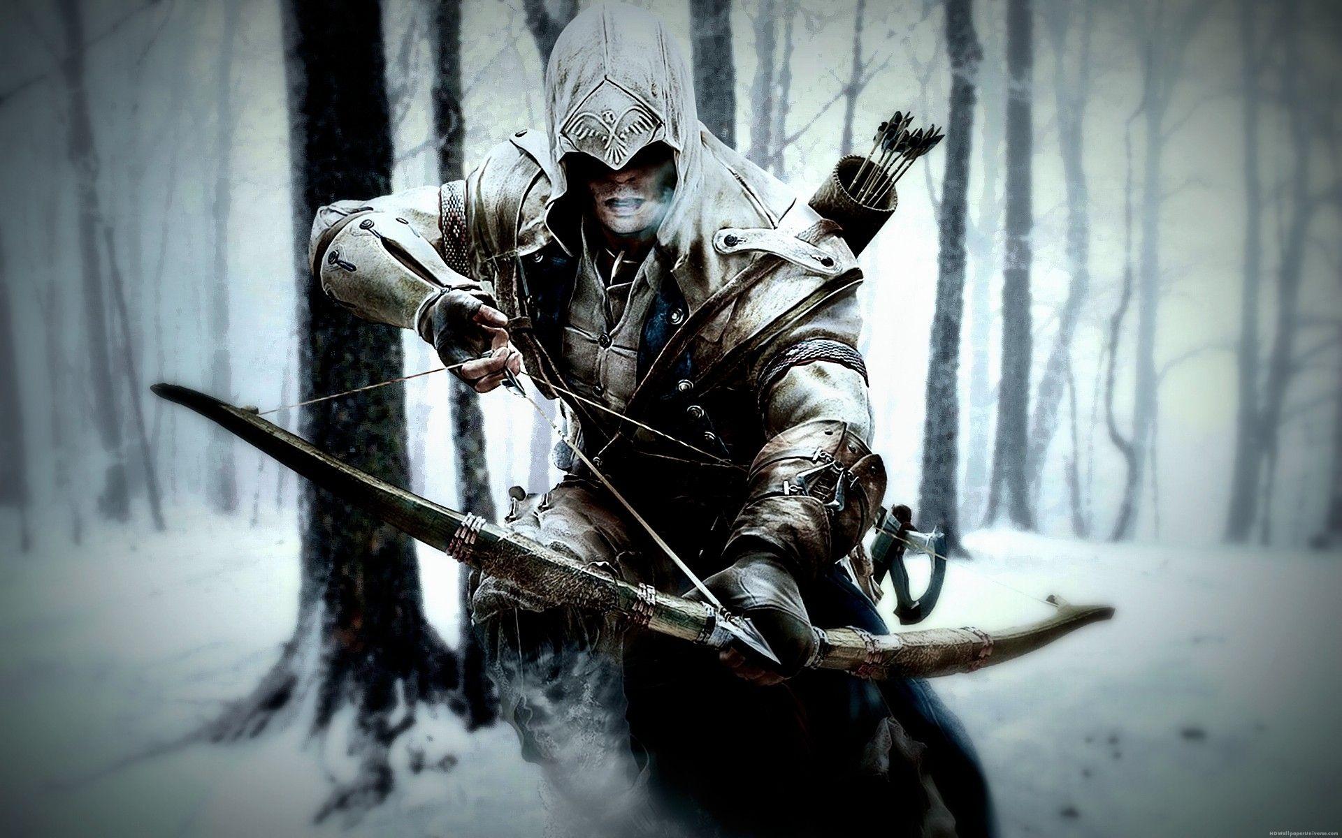 Assassins creed 3 winter bowman hd wallpaper httpwww assassins creed 3 winter bowman hd wallpaper httphdwallpaperuniverse voltagebd Choice Image