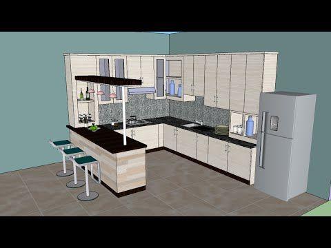Sketchup Tutorial 1 Beginner Sketchup Tutorial Youtube Interior Design Kitchen Interior Design Software Kitchen Design