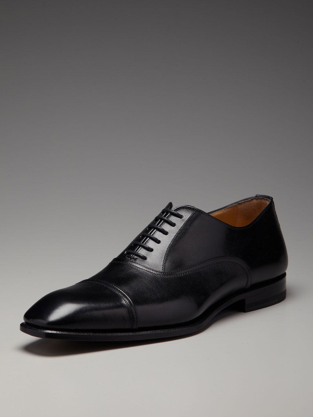 Leather Cap Toe Oxfords by Antonio Maurizi at Gilt