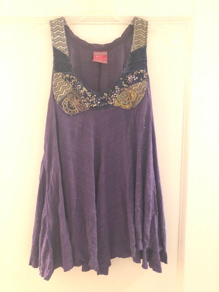 d950e36ceca5e free people swing tank Purple Size Small #fashion #clothing #shoes  #accessories #womensclothing #tops (ebay link)