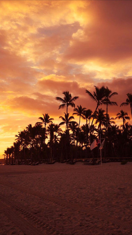 Strand Sonnenuntergang Tapete sunset wallpaper Beach