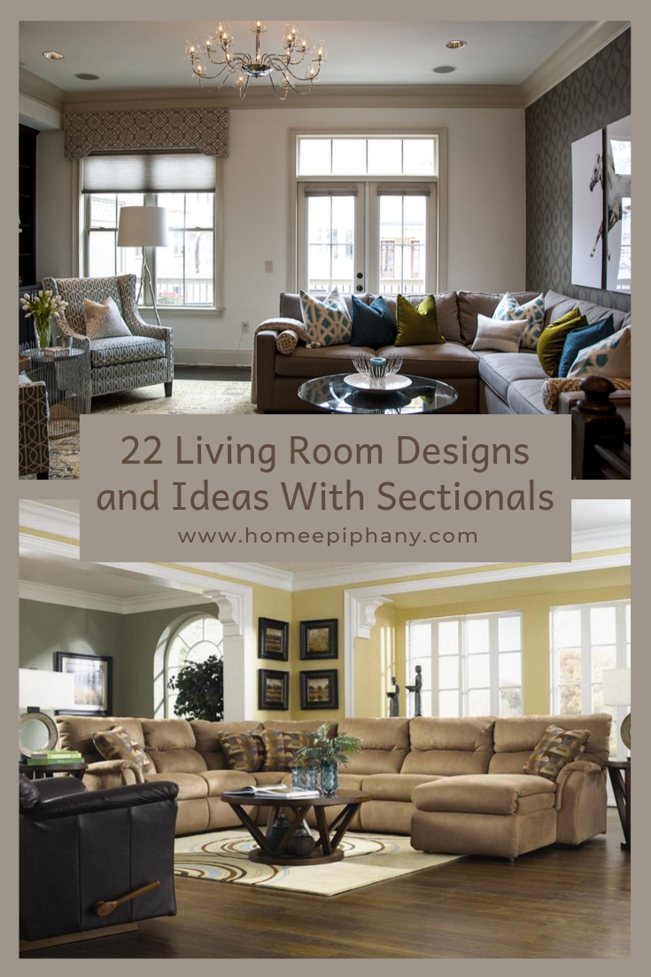 22 Living Room Designs With Sectionals Living Room Designs