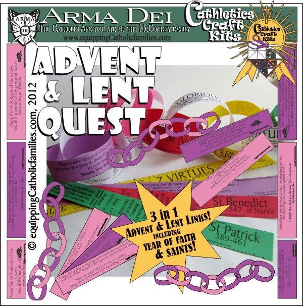 Adviento y Cuaresma Quest 3 en 1