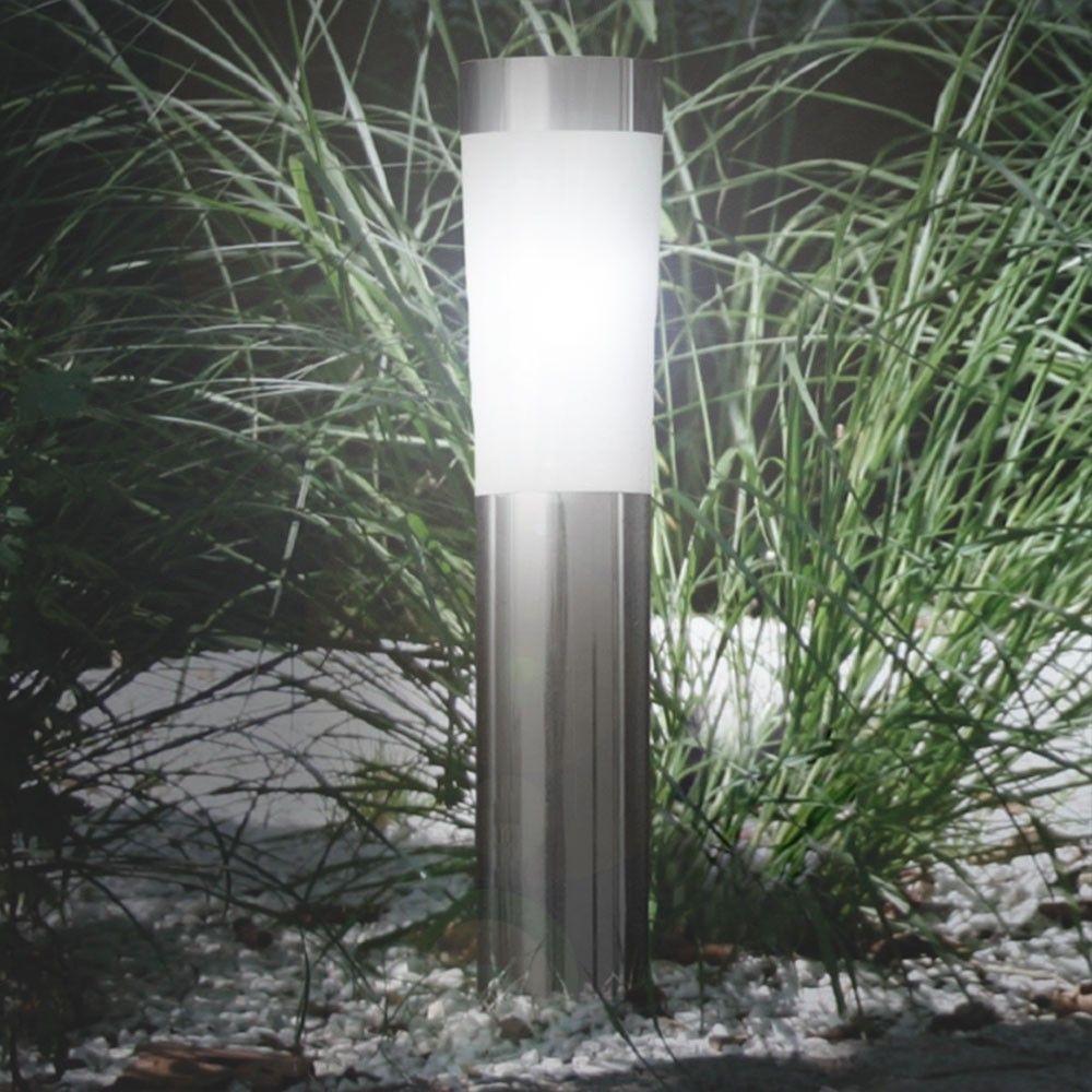skapetze led solarleuchte spie 56 cm edelstahl wei aussenleuchten solarleuchten. Black Bedroom Furniture Sets. Home Design Ideas