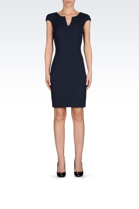 Kurzes Kleid Für Sie Armani Jeans - KREPPKLEID Armani ...