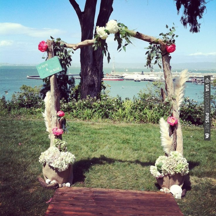 DIY Driftwood Arch By Lovely Little Details