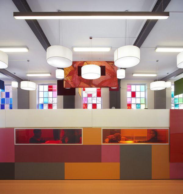 Delightful Design of Primary School in London Wave Avenue SCHOOL
