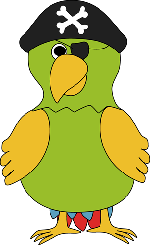 Pirate Parrot Clip Art Pirate Parrot Image Pirate Parrot Pirate Clip Art Clip Art