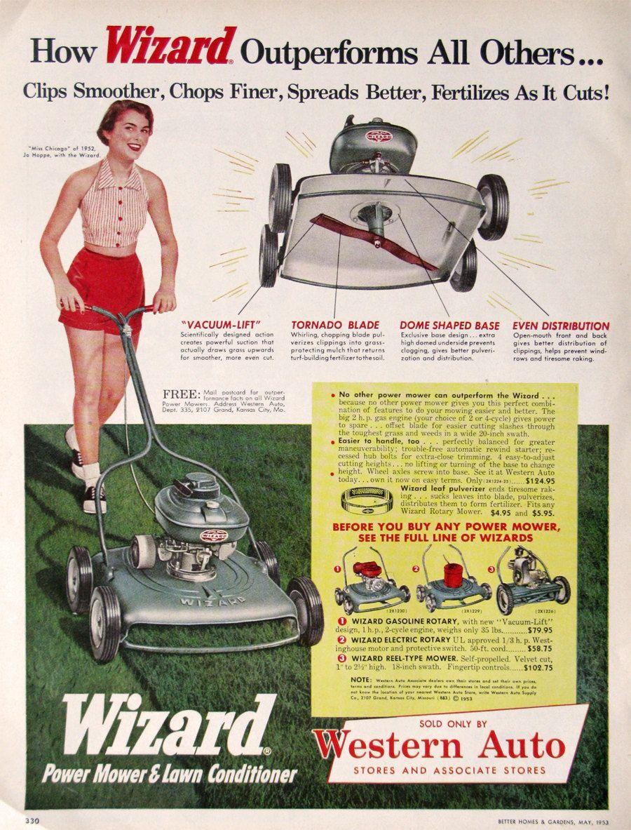 white lawn mower repair manual