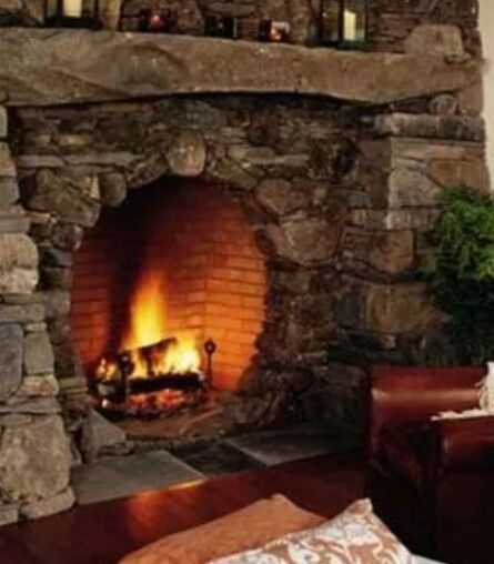 47 Fireplace Designs Ideas: I Love This Hobbit Style Fireplace For A Master Bedroom