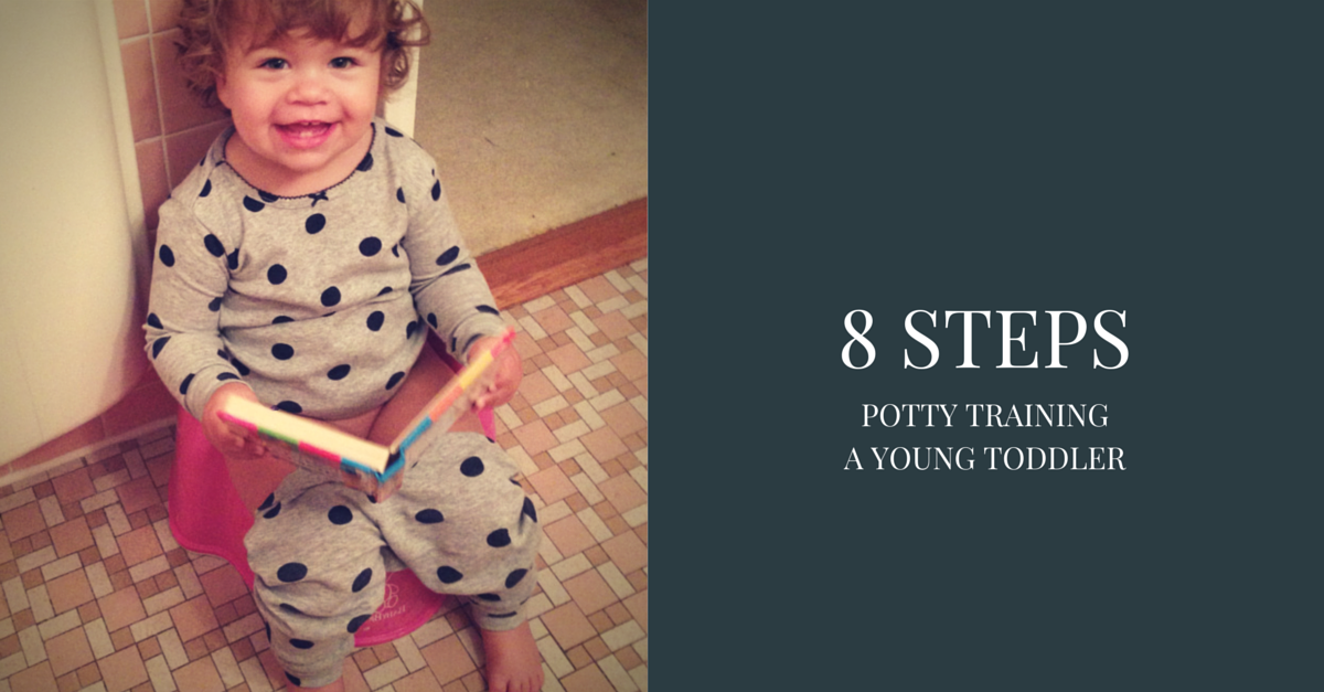 8 STEPS Facebook Early Potty Training Young Toddler