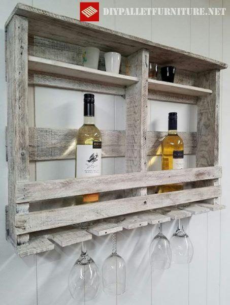 Weinregal aus Paletten Woodworking Pinterest Weinregale, Bar - holzpaletten regal