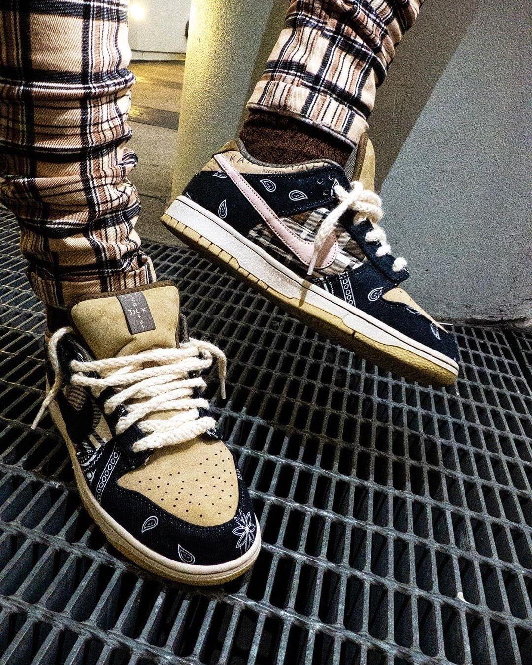Nike Sb Dunk X Travis Scott Nike Sb Dunks Hype Shoes Sneakers Fashion