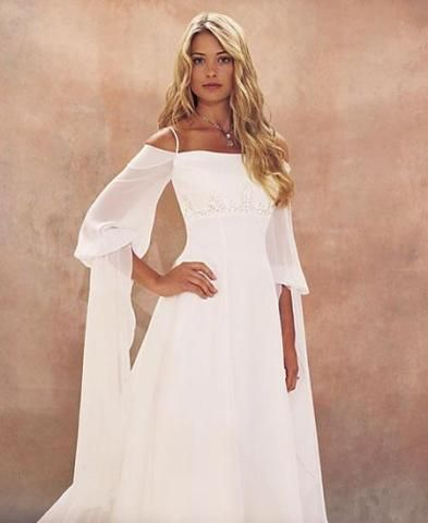 Эльфийское свадебное платье | Эльфийская свадьба | Pinterest ...