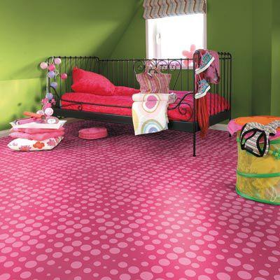 Kids Vinyl Flooring | Pink Bedroom Design, Vinyl Flooring, Bedroom Design