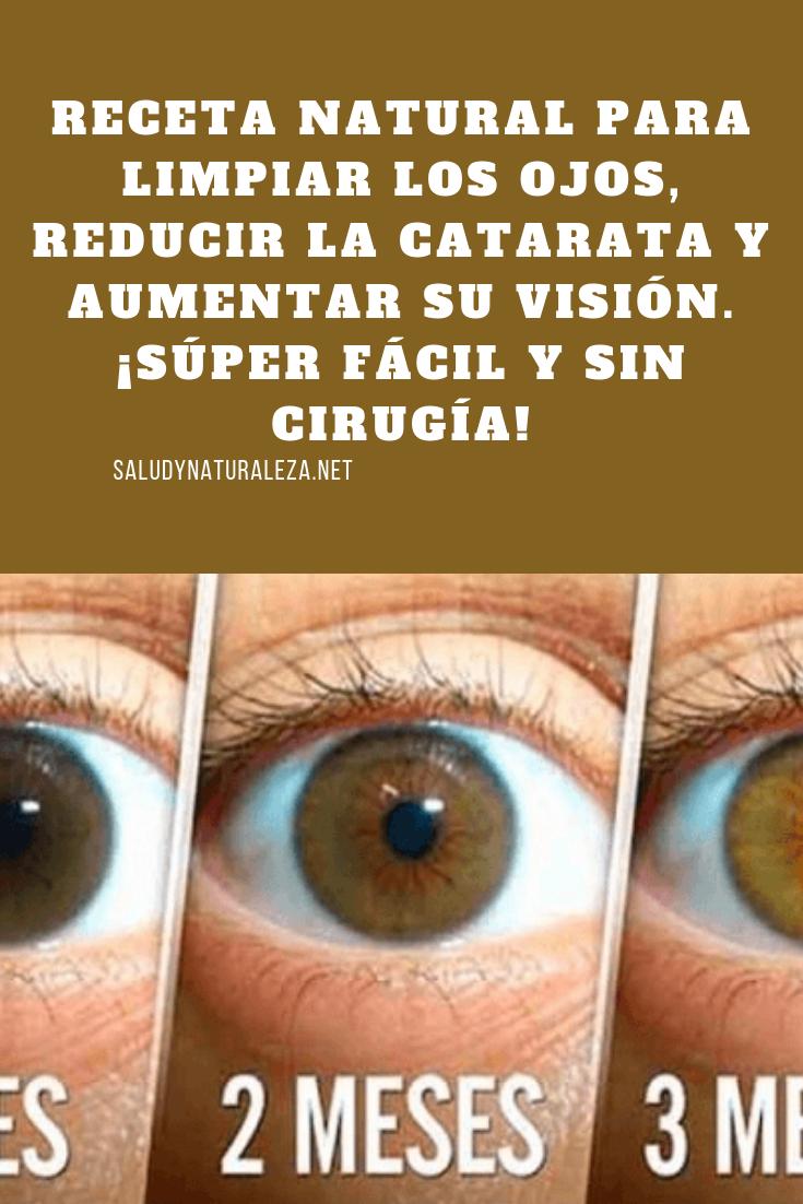 gotas naturales para limpiar los ojos
