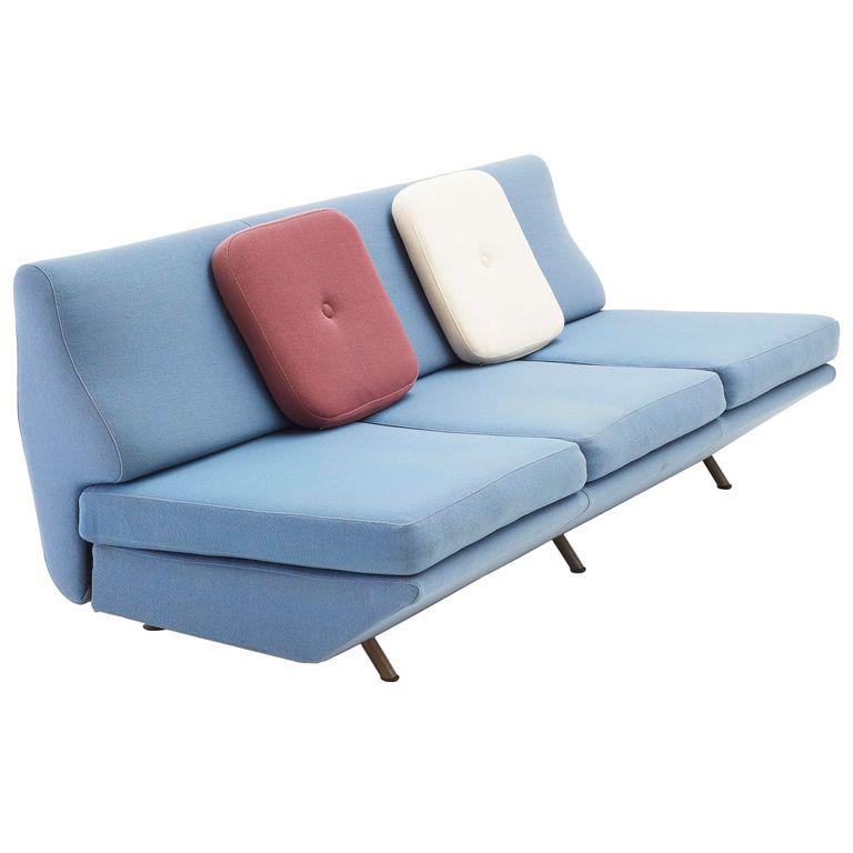Marco Zanuso - Sleep-O-Matic sofa - Original fabric upholstery | Moderno