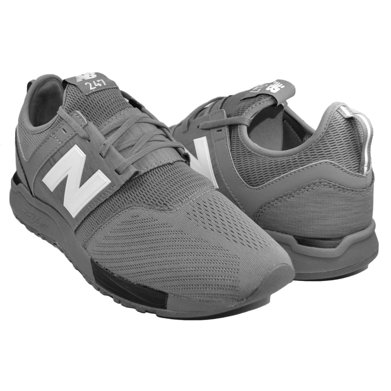 NEW BALANCE 247 Mesh Men | Grey Black (MRL247CB) | Cosas